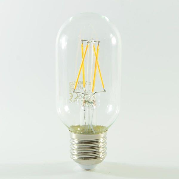 LED Birne Filament Tubular E27 4W dimmbar Warmweiss 350lm 300°