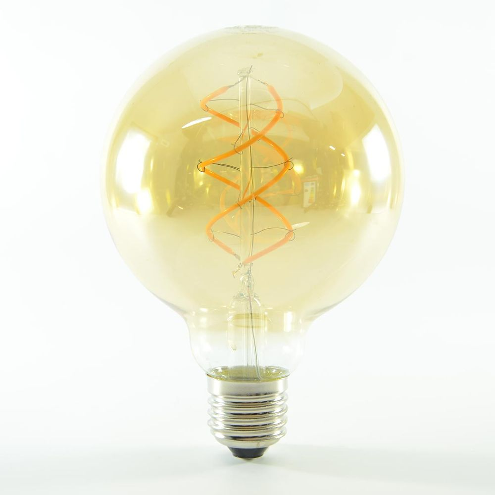 LED Birne Filament Vintage Gold E27 G95 4W dimmbar Warmweiss 180lm 360°