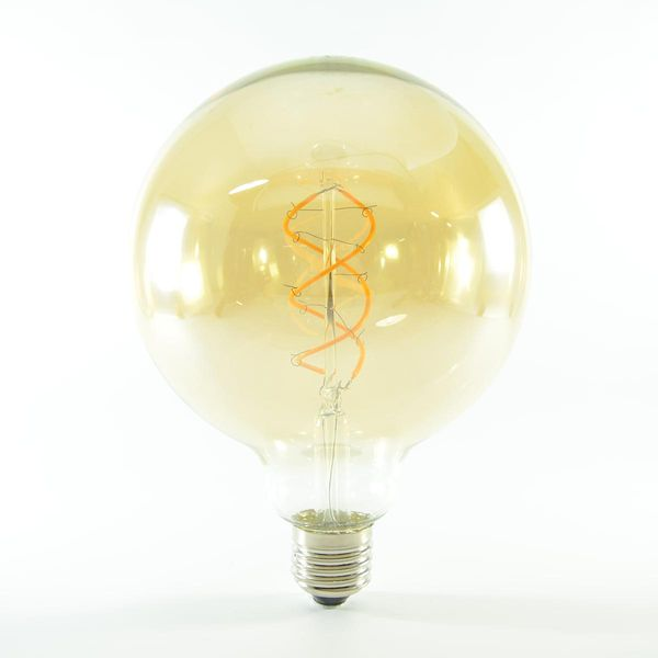LED Birne Filament Vintage Gold E27 G125 4W dimmbar Warmweiss 180lm 360°