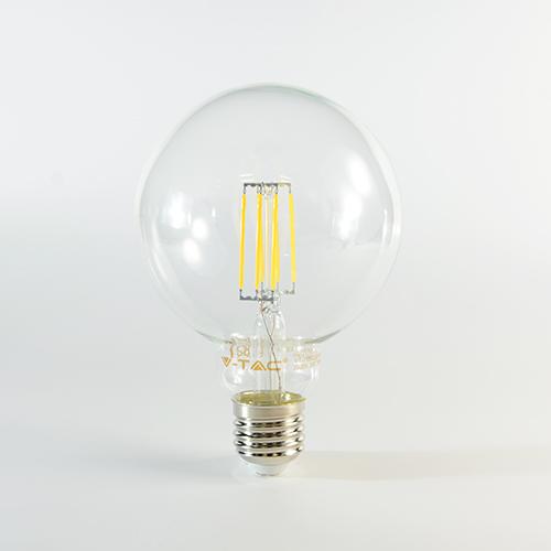 LED Birne Filament E27 G125 4W dimmbar Warmweiss 320lm 300°