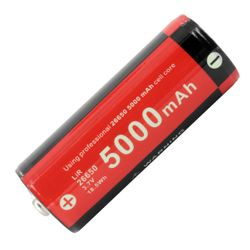 Klarus Lithium-Ionen Akku 26650 5000mAh 18.5Wh