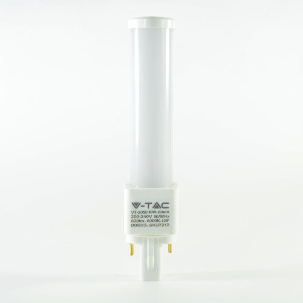 LED Stab G24 2 Pin 10W Tageslichtweiss 820lm 120°