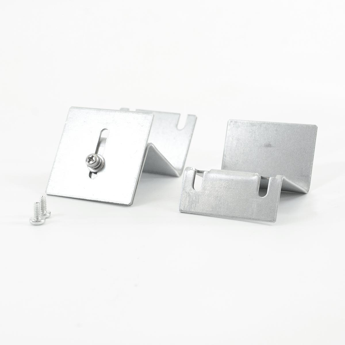 led zubeh r montage set deckeneinbau winkelsystem f r light panel serie. Black Bedroom Furniture Sets. Home Design Ideas