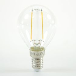 LED Birne Filament Ball Lamp E14 G45 2W Warmweiss 200lm 300°