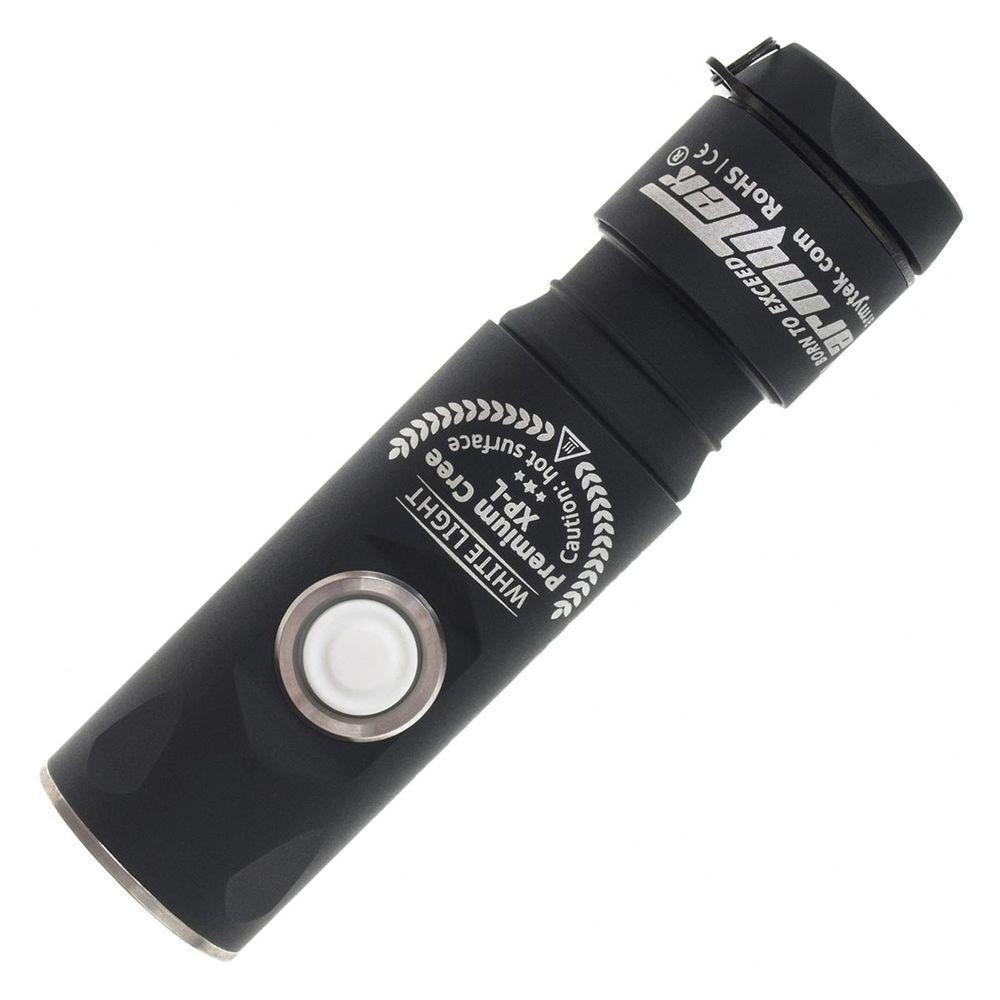 Funktionale LED Taschenlampe Armytek Prime Pro C1 V3 schwarz Cree XP-L 650 lm 131m