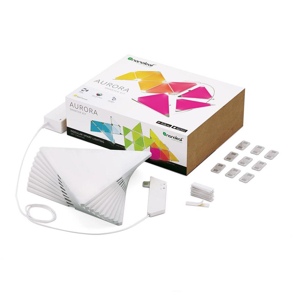LED Nanoleaf Aurora Starter Kit mit Farbwechsel