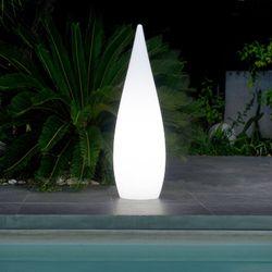 LED Gartenleuchte Oval CLASSY E27 Fassung 1500mm IP64
