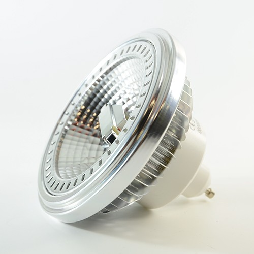 LED Downlight ES111 GU10 12W dimmbar Warmweiss 650lm 40° Reflektor metallisiert IP20