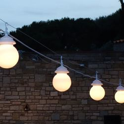 LED Lichterkette CHERRY à 4 Kugeln 7.5m IP33