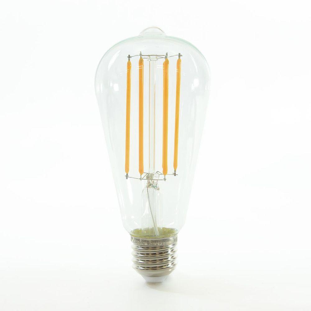 LED Birne Filament ST64 E27 4W dimmbar Warmweiss 2300K 350lm 300°