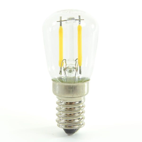 LED Birne Filament Tubular E14 2W Neutralweiss 180lm 300°