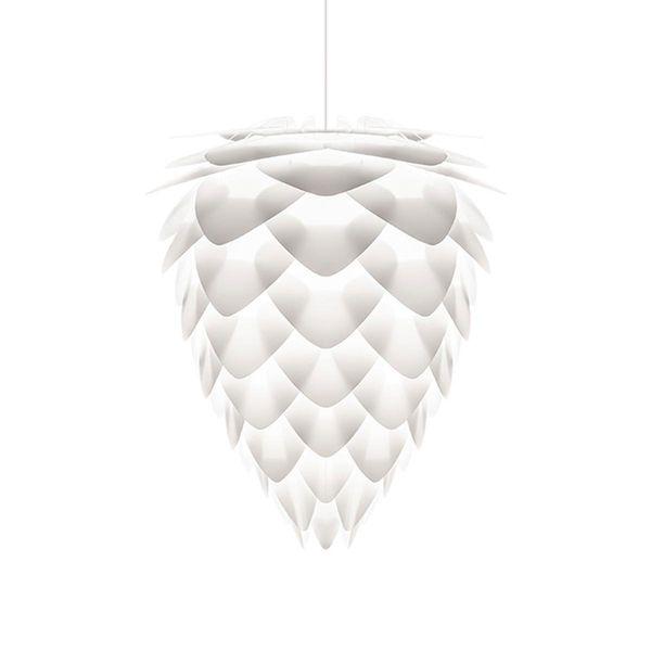 UMAGE Leuchtenkopf Conia mini E27 Kunststoff & Plexiglas weiss 300 x 300 x 360mm