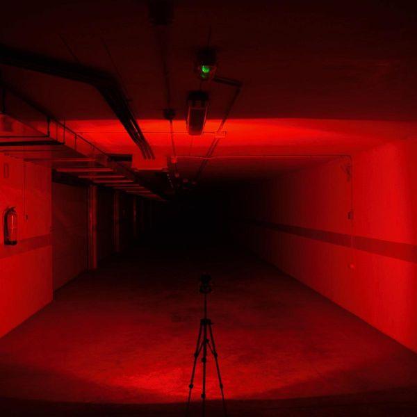 Funktionale LED Taschenlampe AceBeam X80 Schwarz 25'000lm 332m - UV