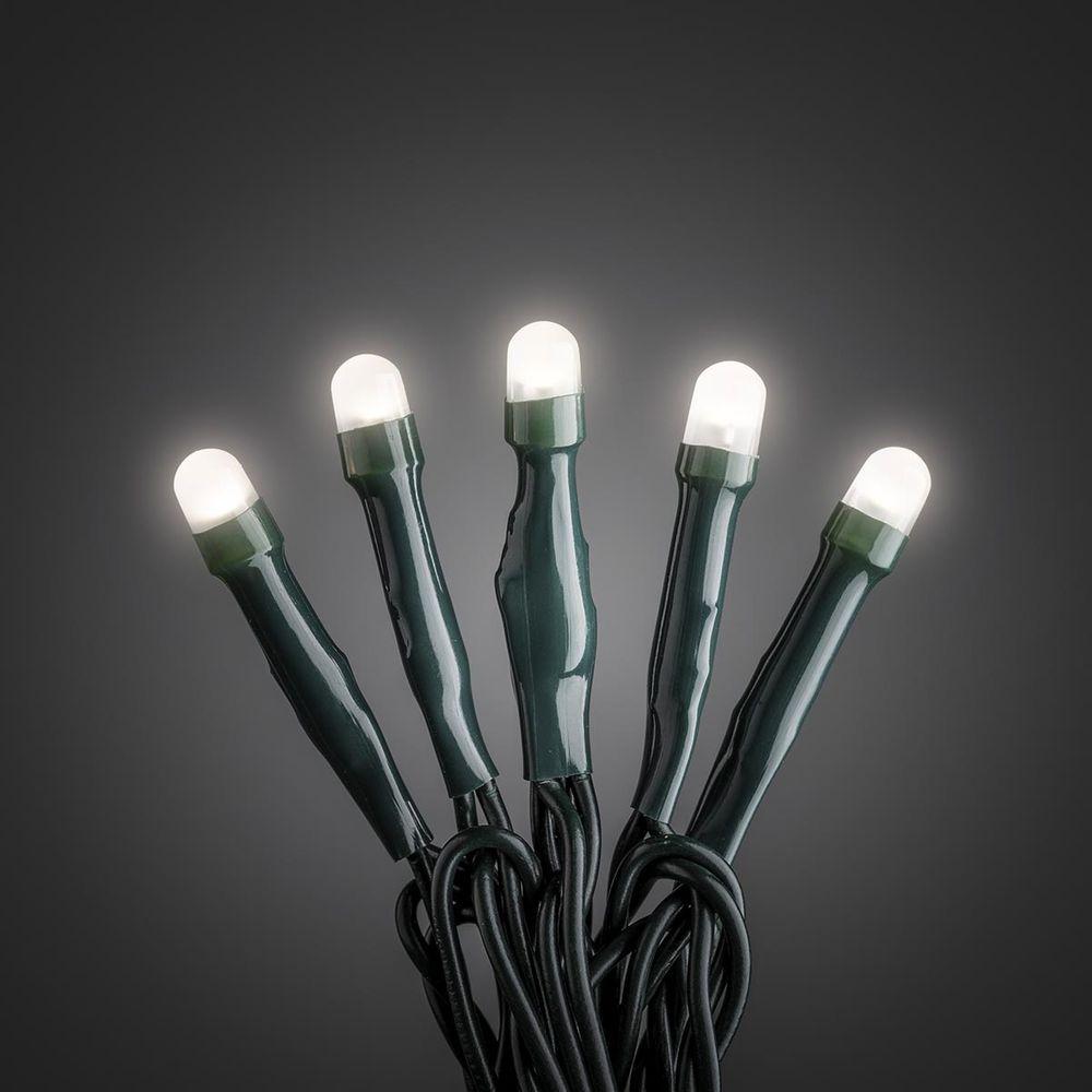 micro led lichterkette 50 warmweisse dioden 24v ip20. Black Bedroom Furniture Sets. Home Design Ideas