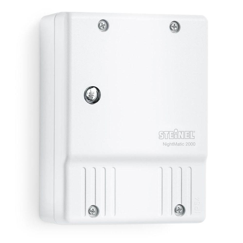 Dämmerungsschalter 1000 W Night-Matic 2000 IP54 weiss