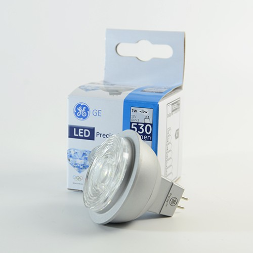 GE Precise LED Spot GU5.3 7W dimmbar Warmweiss 3000K 530lm 35°