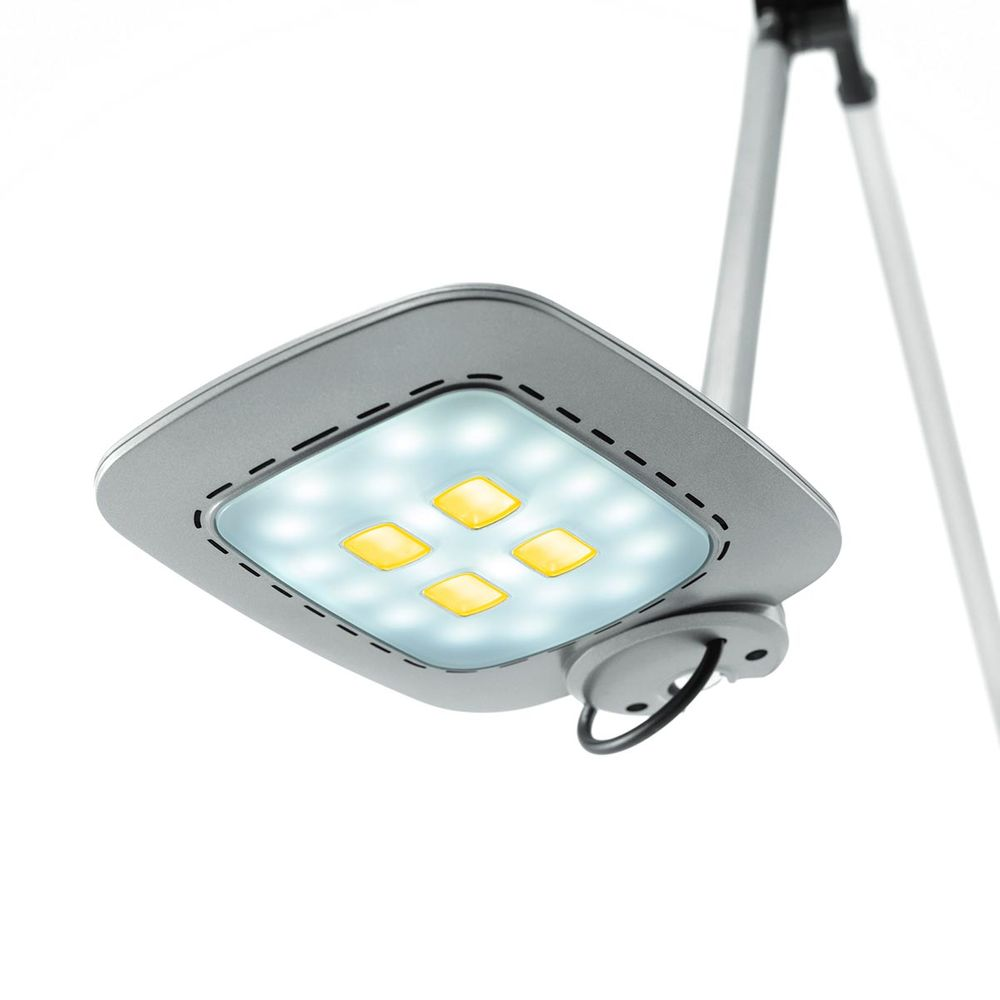 led schreibtischlampe e motion weiss 10w 585lm mit dimmbar farbtemperaturwechsel. Black Bedroom Furniture Sets. Home Design Ideas