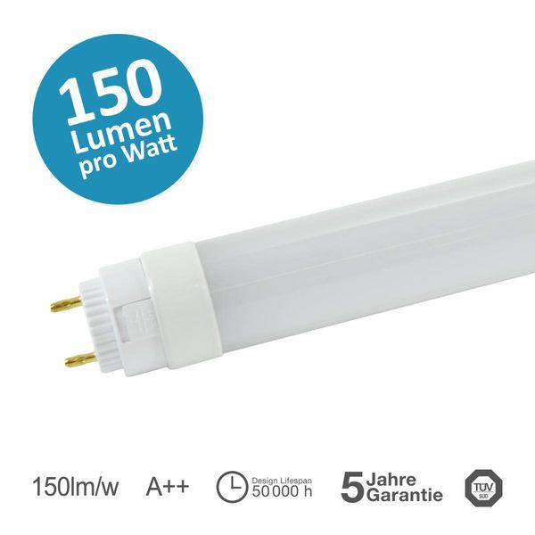 LED T8 Röhre 970mm SES PowerTube G13 2550lm 50lm/W 120° 17W