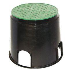 Bodeneinbaudose Ø168mm mit abnehmbarem Deckel