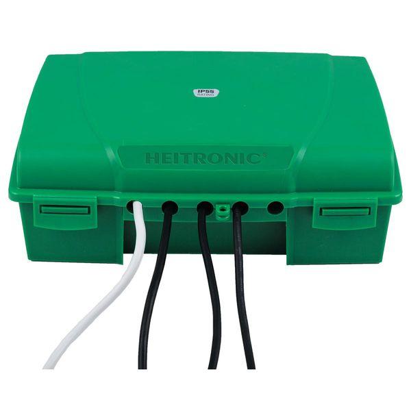Garten-Kabelbox MAXIMUS 350x120mm grün IP55