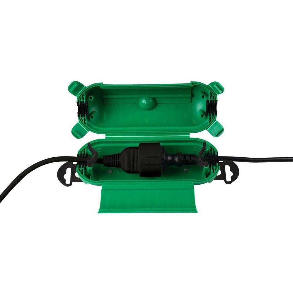 Garten-Kabelbox MINIMO 87x216mm grün IP44