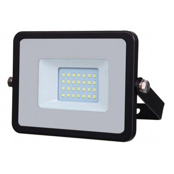 LED Flutlicht Samsung SMD 20W 1'600lm 100° schwarz IP65