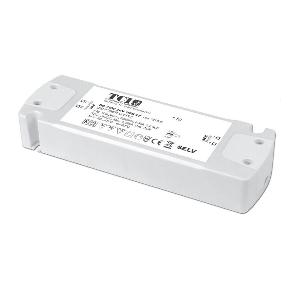 LED Vorschaltgerät Konstantspannung TCI 24VDC 0-75W IP20