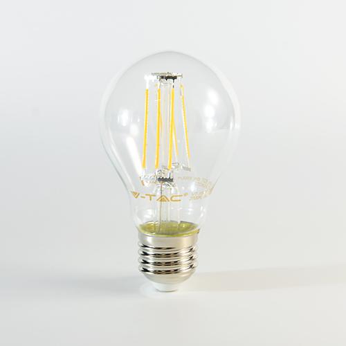 LED Birne Filament E27 A60 6W 806lm 300° A++