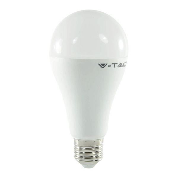 LED Birne E27 A65 17W Tageslichtweiss 1'800lm 200°