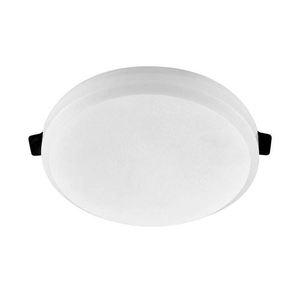 LED Mini Panel Ø90mm 8W 800lm 120° mit Vorschaltgerät IP20 A++
