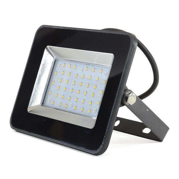 LED Flutlicht SMD I-Series 30W Warmweiss 2'550lm 110° IP65 schwarz