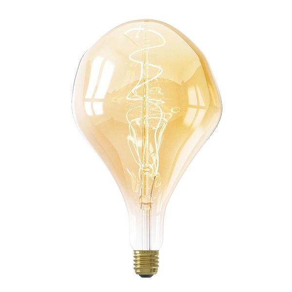 LED Filament Birne Organic XXL E27 6W dimmbar Warmweiss
