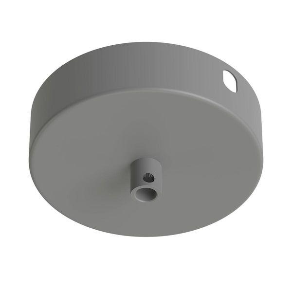 Baldachin aus Metall rund betongrau Ø10cm