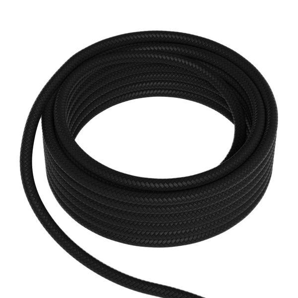 Textilkabel rund schwarz 2x0,75mm