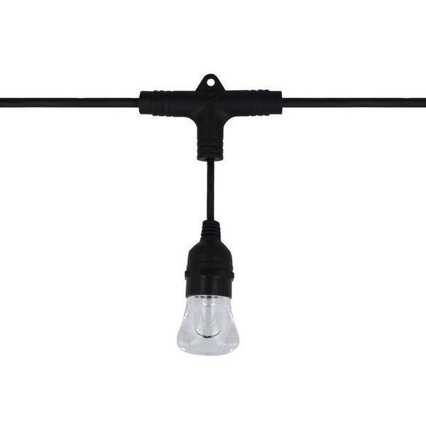 LED line Gartengirlande LEDOM RGBW 10W 240° IP65 2'200-6'500K 10M