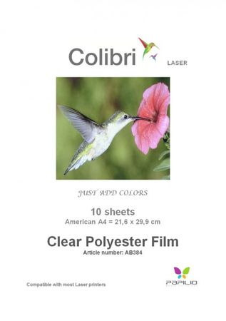 Laser Clear Polyester Film