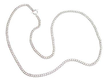Gemshine - Damen - Halskette - Massiv 925 Silber - 90 cm