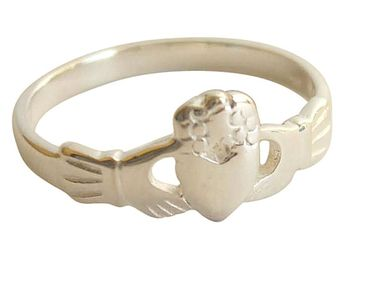 Gemshine - Damen - Ring - 925 Silber - Claddagh