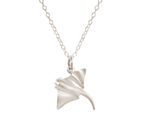 GEMSHINE Maritime Nautics Necklace with Manta Stingray in Sterling Silver, 18k gold plated or rose in Navy Style - Made in Madrid, Spain Bild 5