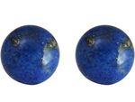 GEMSHINE Ohrringe mit blauen Lapis Lazuli Edelsteinen in 925 Silber, hochwertig vergoldet. Nachhaltiger, qualitätsvoller Schmuck Made in Germany