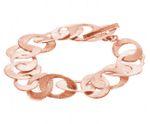 Gemshine Armband in hochwertiger Mattverarbeitung in Silber oder rose vergoldet. Made in Madrid / Spanien. Im eleganten Etui. Bild 6