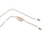 Gemshine Brillenkette: Sonnenbrille, Lesebrille. Kette mit Kaurimuschel und Zuchtperle. Silber oder Vergoldet - Fair Trade, ethisch, qualitätsvoll - Made in Spain Bild 6