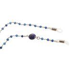 Gemshine Brillenkette: Sonnenbrille, Lesebrille mit blauen Saphiren - 925 Silber oder Vergoldet. Fair Trade, ethisch, qualitätsvoll - Handmade in Germany Bild 6