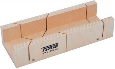 Mitre Box of Birch Plywood 240x60x35 mm (9.4488 x 2.3622 x 1.3779 inch)