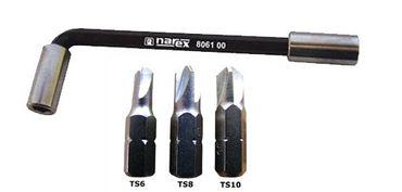 Sicherheits Bit Set 3-tlg - TS 6/8/10 mit Bithalter