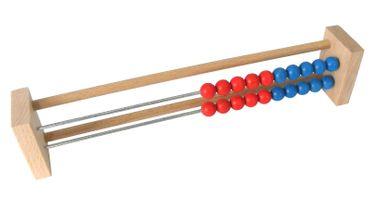 Abakus Schülerrechenrahmen Rechenschieber Zählrahmen mit 20 Kugeln  – Bild 1