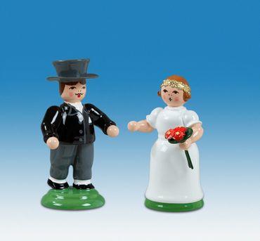 Biedermeier Brautpaar Goldene Hochzeit