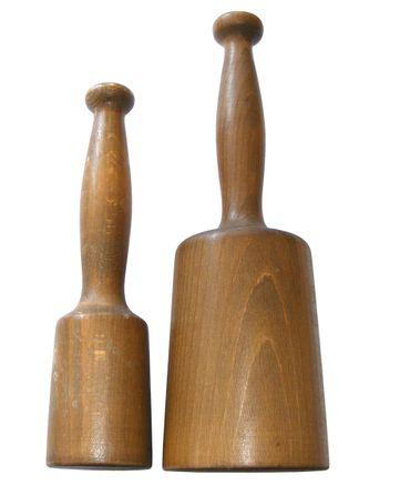Holzklüpfel Set 2-tlg - 250gr. + 600 gr. – Bild 1