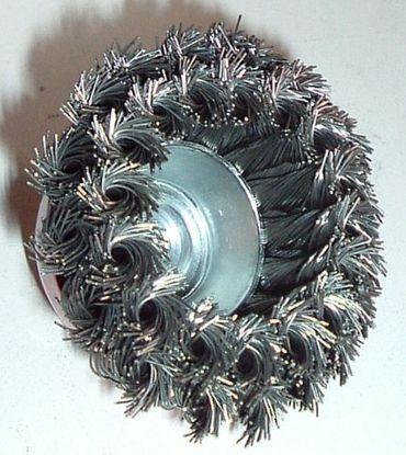 Drahtbürste Topfbürste gezopft - M14x2 – Bild 6
