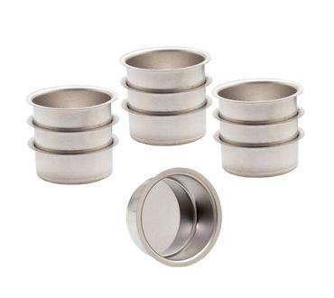 Teelicht Tülle Teelichthalter Weißblech 40 mm  – Bild 1